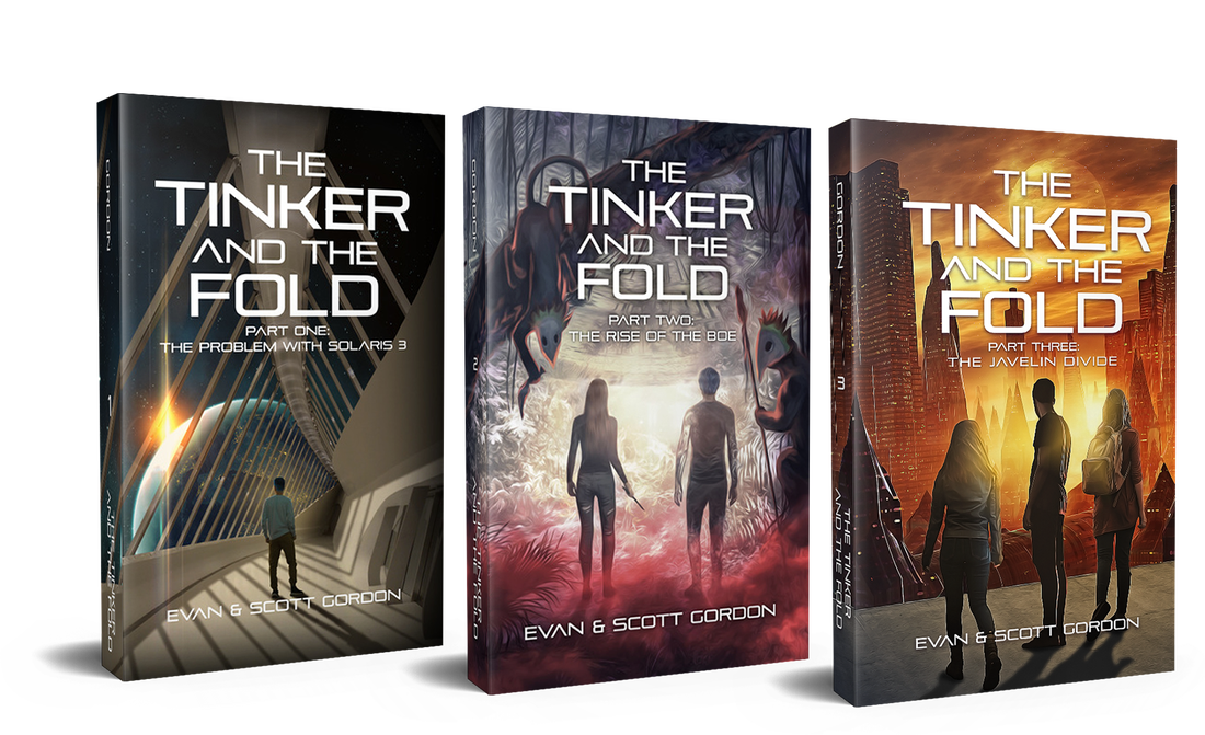 The Tinker and The Fold, Scifi, Young Adult, Fantasy